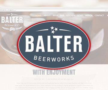 Balter Beerworks Web Design