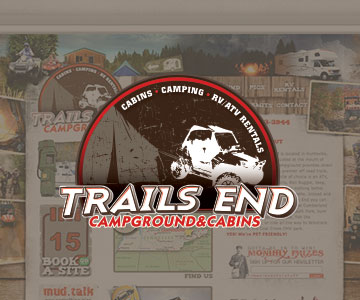 Trails End Campground Web Design