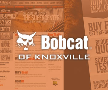 Bobcat® of Knoxville Web Design