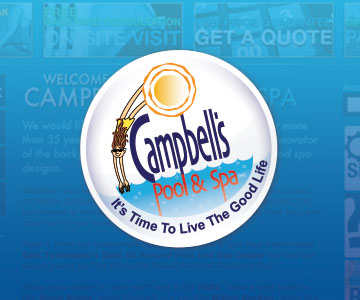 Campbell's Pool & Spa Web Design