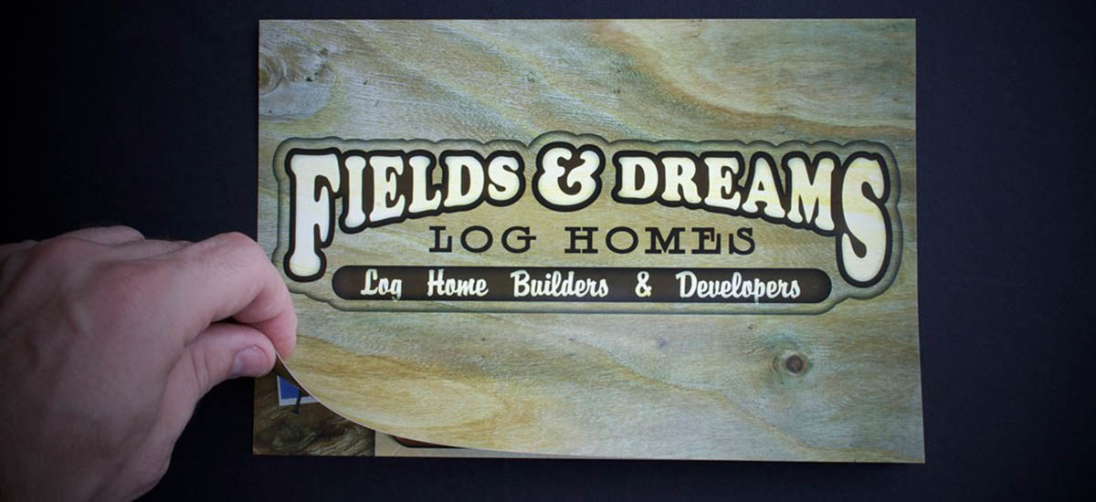 Fields & Dreams Log Homes Brochure