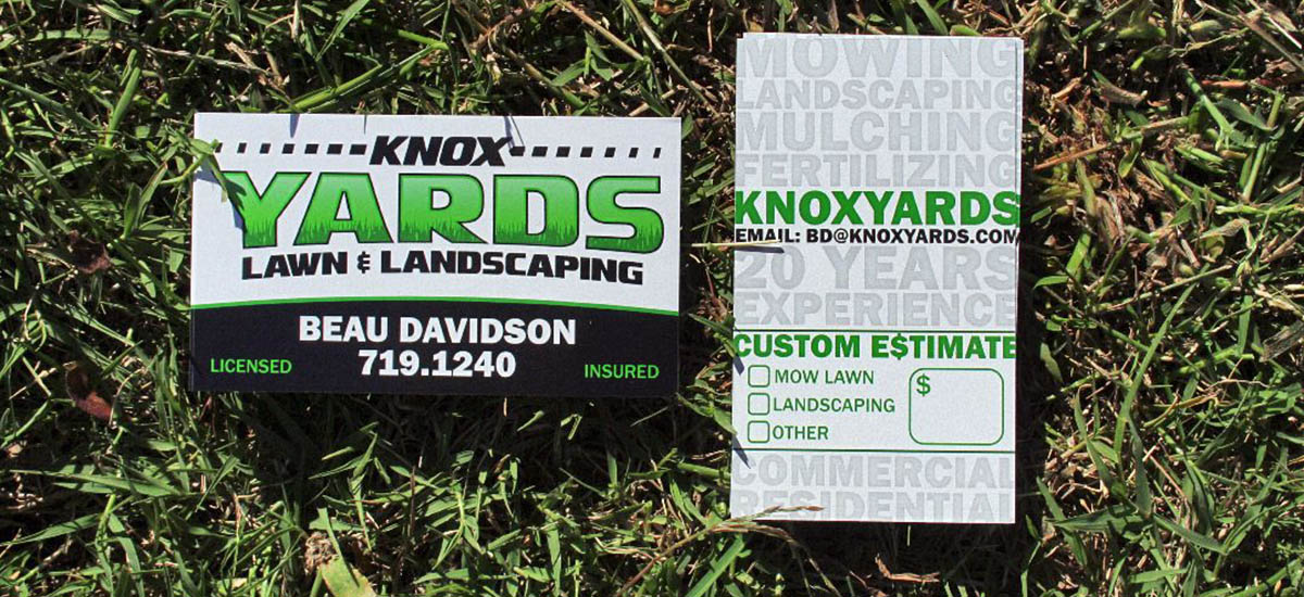 Knox Yards Branding