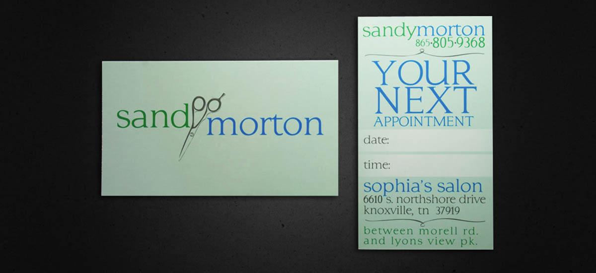 Sandy Morton Branding