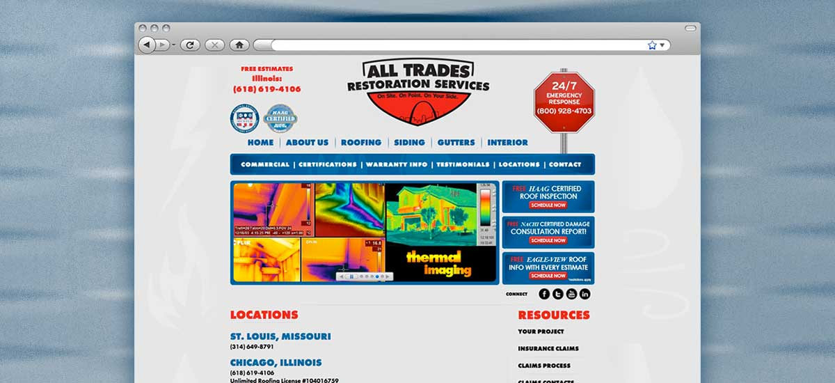 All Trades Restoration Web Design