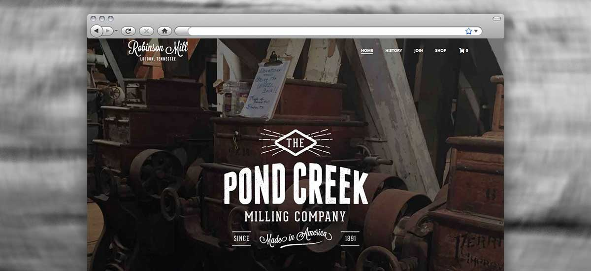 Robinson Mill Web Design