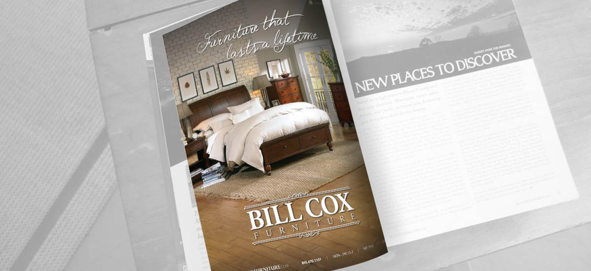 Bill Cox Furniture Ads